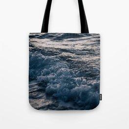 Liquid Sunset Tote Bag