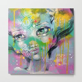 Daydreaming Away Metal Print