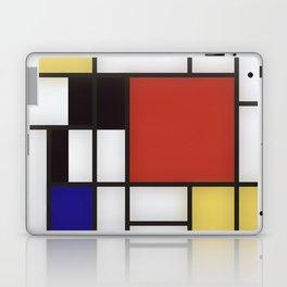 Piet Mondrian Laptop & iPad Skin