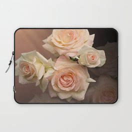 The Roses Blush at Dawn Laptop Sleeve