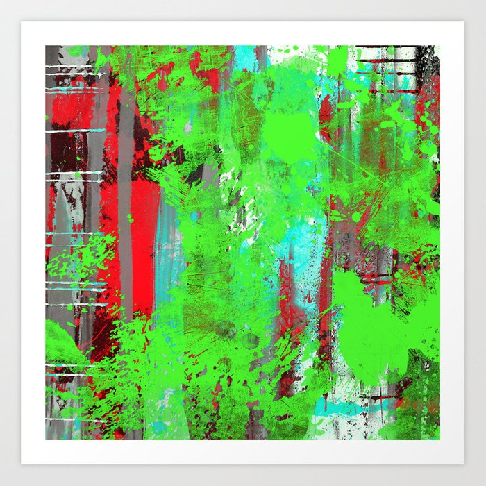 Colour Injection I Art Print