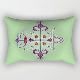 Voodoo Symbol Papa Legba Rectangular Pillow