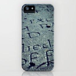 Grave Stone iPhone Case