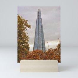 The Shard London Bridge Tower Mini Art Print