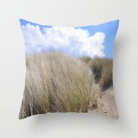 dune Throw Pillows featuring Dune 2  by  Agostino Lo Coco