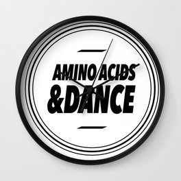 Amino Acid & Dance Wall Clock