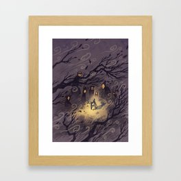 Could It Be The Wind? Framed Art Print