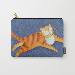 The Leaping Cat Carry-All Pouch