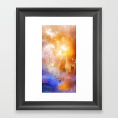 Born Star Framed Art Print
