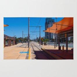 Broadbeach Light Rail Station Rug