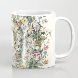 Circle of Life Cream Coffee Mug