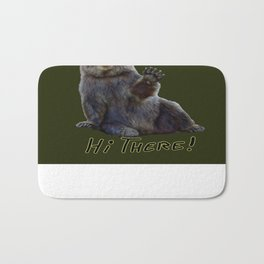 Bearly Greetings Bath Mat