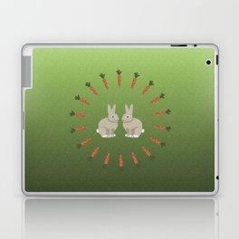 Carrots and Rabbits Laptop & iPad Skin