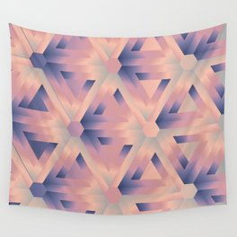 Impossible triangles Optical illusion Wall Tapestry