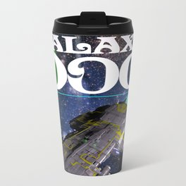 Galaxy Dog Metal Travel Mug