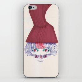 Owl lady wannabe iPhone Skin