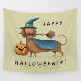 Happy Halloweenie! Wall Tapestry