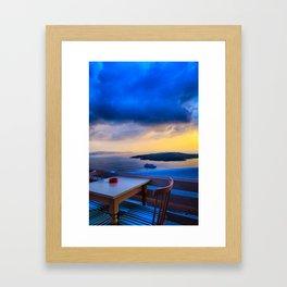 Santorini 25 Framed Art Print