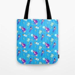 Alice in Wonderland - Mad Hatter Tote Bag