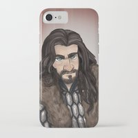 thorin iPhone & iPod Cases featuring Thorin by quietsnooze