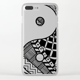Balance Clear iPhone Case