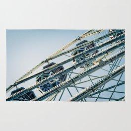 Ferris Wheel Blues Rug