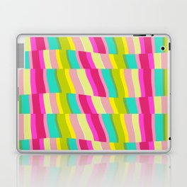 MULTI COLOURED STRIPE Laptop & iPad Skin
