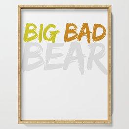 Big Bad Bear Serving Tray
