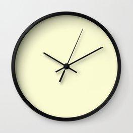 Light Goldenrod Wall Clock