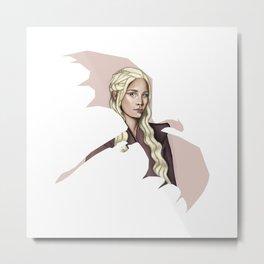 Dragon Mother ( Mother of Dragons ) Metal Print