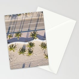Fort Lauderdale beach from aerial point of view Stationery Cards