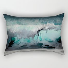 Night Wave Rectangular Pillow