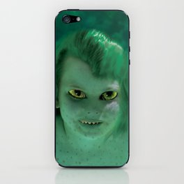 Young Jenny Greenteeth iPhone Skin