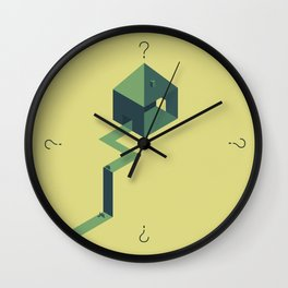 The doubt Wall Clock