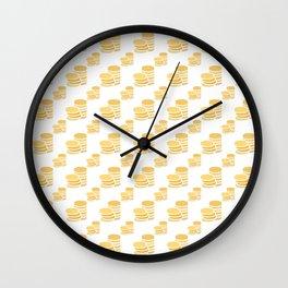Novacoin (Nvc) - Creative Crypto Pattern Art (Medium) Wall Clock