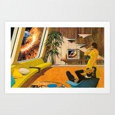 Big Bang is On Art Print