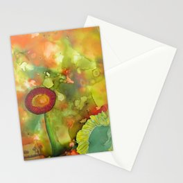 Faces In The Cloud Stationery Cards