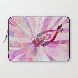 Sleeping Ballerina Floral Laptop Sleeve