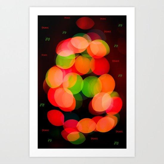 Peace & Joy Art Print