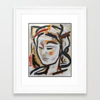 dune Framed Art Prints featuring Dune by M.TALIERA