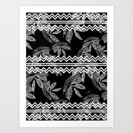 Plume 5 Art Print
