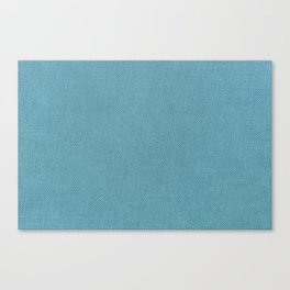 Solid Turquoise Blue Canvas Print