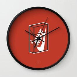 Smoke Box 3 Wall Clock