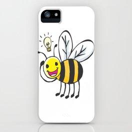 Bee Idea iPhone Case