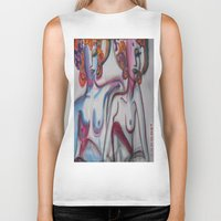 friendship Biker Tanks featuring FRIENDSHIP by Loosso