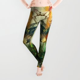 Chaos Waves Leggings
