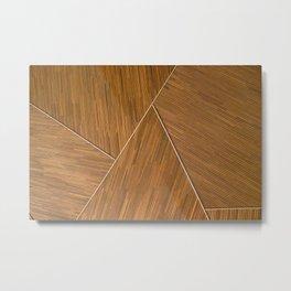 The Bamboo Architect Metal Print