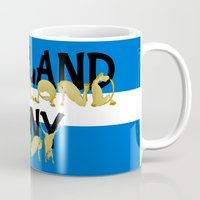pony Mugs featuring Shetland Pony by mailboxdisco