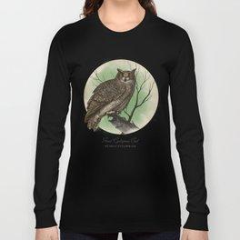 Great Cyclopean Owl Long Sleeve T-shirt
