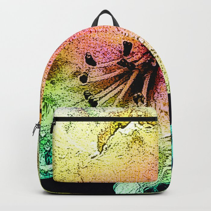 Painted Himalayan Rhodo Backpack